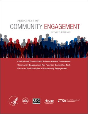 Principles of Community Engagement: Cover